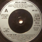 "WILLIE COLON - Set Fire To Me - 7"" Single"