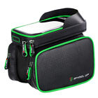 Bicycle Bag Tube Frame Front Bike Pannier Touch Screen Cell Phone Cycling Pouch