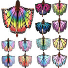 Kyпить Multicolor Soft Fabric Butterfly Wings Fairy Lady Nymph Pixie Costume Accessory на еВаy.соm