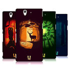 HEAD CASE DESIGNS ENCHANTING GROVE HARD BACK CASE FOR SONY PHONES 3