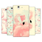 HEAD CASE DESIGNS FAB FLAMINGO HARD BACK CASE FOR SONY PHONES 3