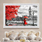Внешний вид - Unframed London Big Ben Lover Canvas Painting Print Home Wall Picture Home Decor