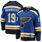 Jay Bouwmeester St Louis Blues Fanatics Branded Breakaway Player Jersey Blue