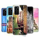 HEAD CASE DESIGNS BEST OF PLACES SET 3 SOFT GEL CASE FOR HUAWEI PHONES