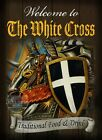 THE WHITE CROSS  VINTAGE STYLE METAL PUB  SIGN 2 SIZES  TO CHOOSE FROM (GH)