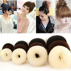 4 Sizes Hair Styling Donut Bun Maker Ring Style Bun Scrunchy Sock Poof Bump Gift