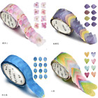 Внешний вид - 200PCS/Roll Masking Scrapbook Sticker Sticky Paper Flower Petals Tape Washi Tape