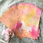 100 Pink Unicorn Designer Poly Mailers, Plastic Envelopes Shipping Bags