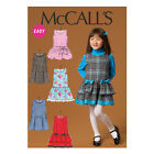 McCall's 7008 Easy Sewing Pattern to MAKE Girls' Jumper Dress - School Pinafore