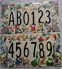 Art on Tile Natural Garden Nature Butterfly House Ceramic Address number 0-9