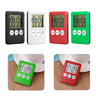Magnetic Large LCD Digital Kitchen Cooking Timer Count-Down Up Clock Loud Alarm
