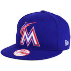 Miami Marlins New Era MLB PR Custom Colors 9FIFTY Snapback FlatBill Brim Cap Hat