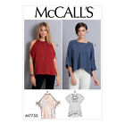 McCall's 7750 Sewing Pattern to MAKE Loose-Fitting Top w/ Variations