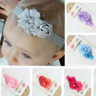 Cute Kids Baby Girl Lace Flower Toddler Headband Hair Band Headwear Accessories