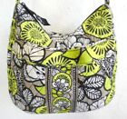 Vera Bradly Yellow Green Beige Floral Women's Shoulder Cross-body Quilted  Bag