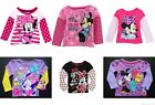 MINNIE MOUSE DISNEY Sparkly Long-Sleeve Shirt NWT Toddlers Size 2T, 3T or 4T 16