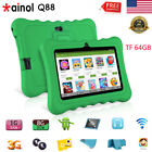 """7"""" Quad Core 1+8GB Tablet for Kids 3G TF 64GB Android7.1 2*Cam WiFi Bundle Case"""