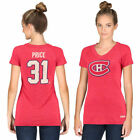 Carey Price Montreal Canadiens CCM Women's Name & Number Tri-Blend V-Neck