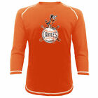 Baltimore Orioles Majestic Threads Vintage Logo 3/4-Sleeve Raglan T-Shirt - on Ebay