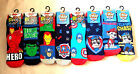 Boys Paw Patrol Avengers Slipper Socks Uk Size 3-5.5 6-8.5  9-12 12.5 -3.5 New
