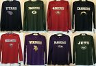 New NFL Youth Long sleeve Polyester T-shirt Boy's Tee Shirt Football Kid's Sizes $9.89 USD on eBay