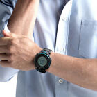 Sports Men Boys Outdoors Round Dial Electronic Movement Wrist Watch Lot Clever