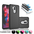 For Lg G7 Thinq / Lg G7 Shockproof Case Armor Hybrid Rubber Defender Hard Cover