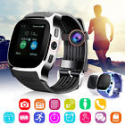 Hot T8 Bluetooth Smart Watch Support SIM TF card Camera For Android iPhone IOS
