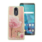 For LG Stylo 4 Liquid Glitter Quicksand Hard Case Phone Cover Accessory