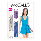 McCall's 7788 Sewing Pattern to MAKE Misses'/Miss Petite Romper and Jumpsuit