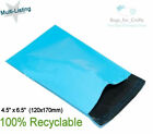 BABY BLUE Mail Postal Postage Parcel Poly Plastic Mail Bags 4.5 x 6.5