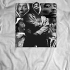 TUPAC COLLAGE OLDSKOOL CUSTOM RARE DESIGN *FULL FRONT OF SHIRT**MANY SIZES image