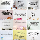 Diy Art Vinyl Quote Wall Stickers Kitchen Decor Interior Mural Living Room Decal
