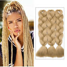African Ombre Jumbo Soft Kanekalon Braiding Hair Crochet Style Braid Extensions