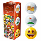 Official Emoji Golf Balls Accessories Christmas Presents Golfer Gifts For Him