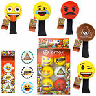Official Emoji Golf Balls Accessories Present Golfer Gifts For Him Christmas