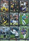 2015 Topps Chrome Base and Rookie Football cards - Pick the ones you need!!