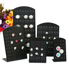 72 Holes Plastic Earrings Display Stand ewelry Holder Show Case Tool Racks