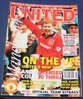 MANCHESTER UNITED THE OFFICIAL MAGAZINE NOVEMBER 1995 - ON THE UP!