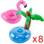 Mini Inflatable Flamingo Cup Floating Drink Can Holder Magical Style Party Pool