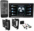 Car DVD/iPhone/Bluetooth/Android/USB Receiver Stereo For 2007-2009 Jeep Wrangler