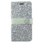 For LG Stylo 4 Premium Bling Diamond Wallet Flip Pouch Case Cover + Screen Guard