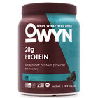 OWYN 100% Vegan All Natural Plant Protein Aids in Muscle Recovery 1lb