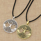 Viking Tree of Life Pendant Necklace Vintage Long Chain Jewelry Amulet Gift, used for sale  China
