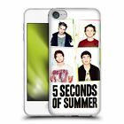 OFFICIAL 5 SECONDS OF SUMMER POSTERS SOFT GEL CASE FOR APPLE iPOD TOUCH MP3
