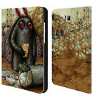 OFFICIAL JASON LIMON ALIENS LEATHER BOOK WALLET CASE FOR SAMSUNG GALAXY TABLETS