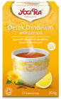 Yogi Tea Detox Dandelion with Lemon Organic 17 Bags 30.6g Blend with Liquorice