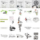 Family Quote Removable Wall Sticker Art Decal Mural Home Bedroom Decor PVC Lot