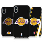OFFICIAL NBA LOS ANGELES LAKERS 2 BLACK SOFT GEL CASE FOR APPLE iPHONE PHONES