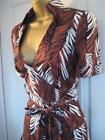 BNWT Karen MiIlen £160 TROPICAL SAFARI Shirt Dress 6 8 10 12 14  Belted Summer